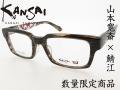 山本寛斎×鯖江 KANSAI YAMAMOTO 数量限定モデル 凧絵 KY7004 Col.2