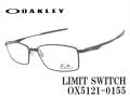 OAKLEY オークリー メガネフレーム LIMIT SWITCH OX8121-0155 55サイズ