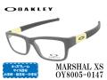 OAKLEY オークリー メガネ キッズフレーム MARSHAL XS OY8005-0147 Sati Black