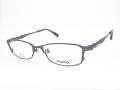 メンズ メガネ PlusMix プラスミックス チタンフレーム フルリム PX13579 830 ブルーグレー