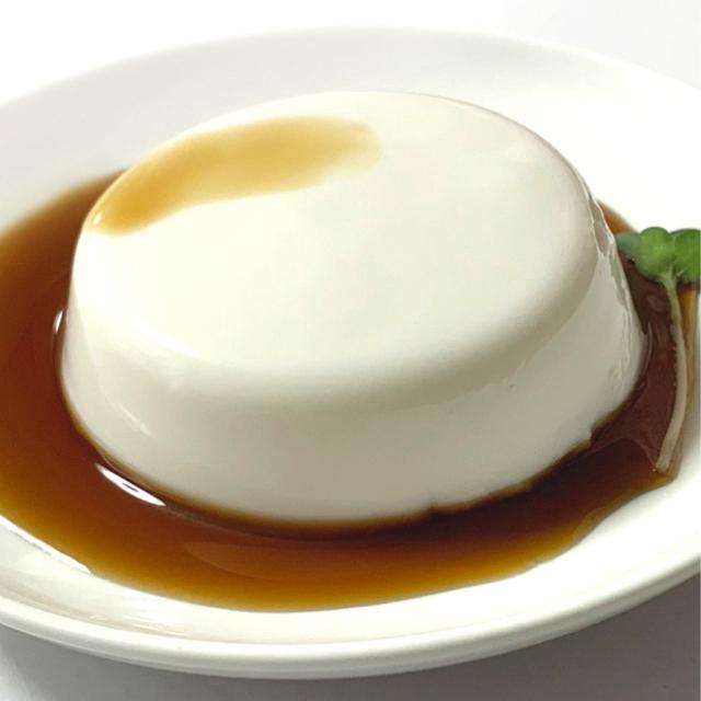 ジーマーミ豆腐 盛り付け