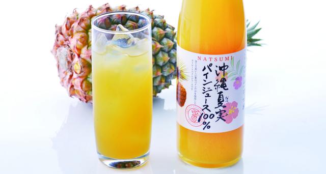 夏実パインジュース 100%