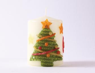 クリスマスキャンドル サンプルセット