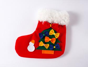 クリスマスくつした サンプル2個セット