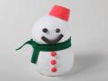粘土で作る雪だるま貯金箱 100個セット