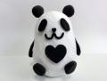 粘土で作るパンダ貯金箱 100個セット