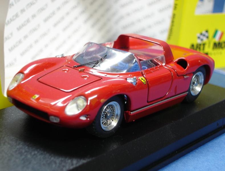 ・アートモデル 1/43 フェラーリ 250P PROVA 1963