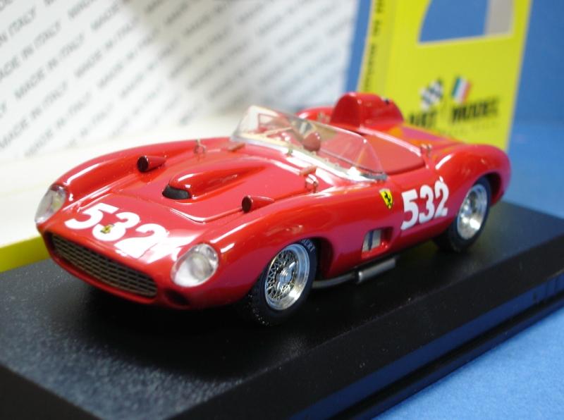 ・アートモデル 1/43 フェラーリ 315S ミレミリア1957 #532