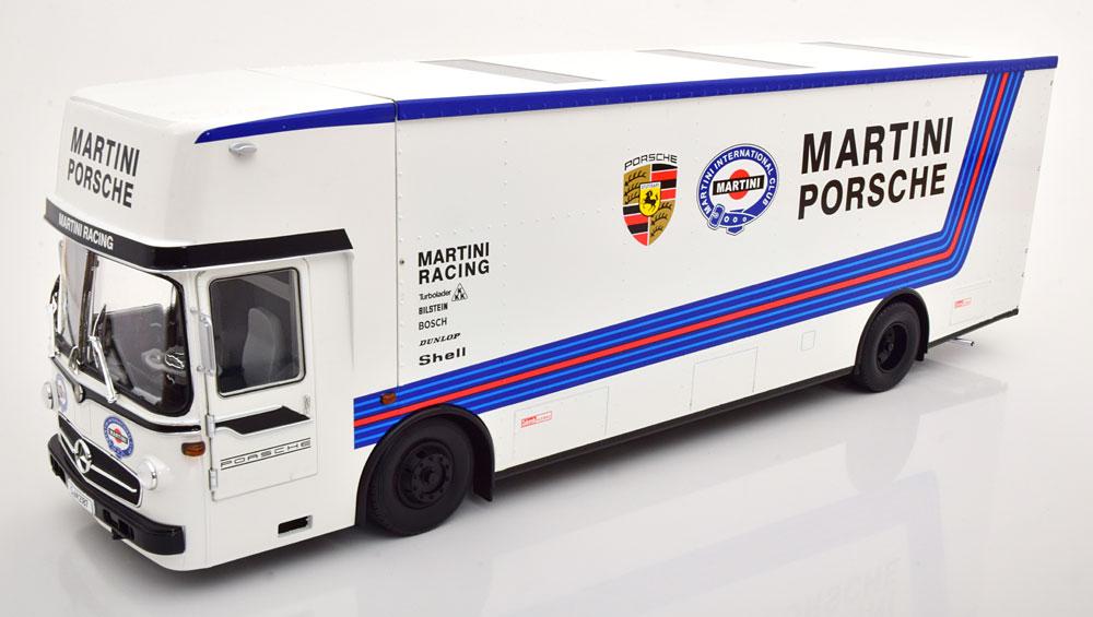 【予約品】 CMR 1/18 メルセデス O317 ポルシェ トランスポーター 1968 マルティニレーシング