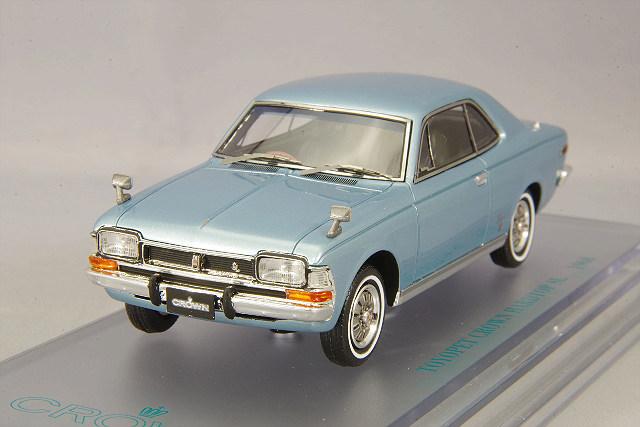 【予約品】 ENIF 1/43 トヨペット クラウン 2ドア ハードトップ SL 1968年型 マイデンブルーメタリック