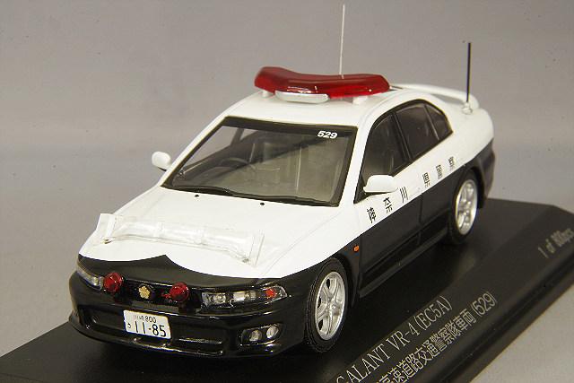 【予約品】 RAI'S 1/43 三菱 ギャラン VR-4 (EC5A) 2002 神奈川県警察高速道路交通警察隊車両 (529)