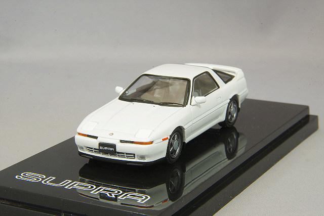 【予約品】 ホビージャパン 1/64 トヨタ スープラ (A70) 2.5GT ツインターボ R スーパーホワイトIV