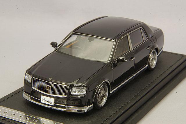 【予約品】 イグニッションモデル 1/43 トヨタ センチュリー (UWG60) ブラック/BBS RSタイプ19インチ