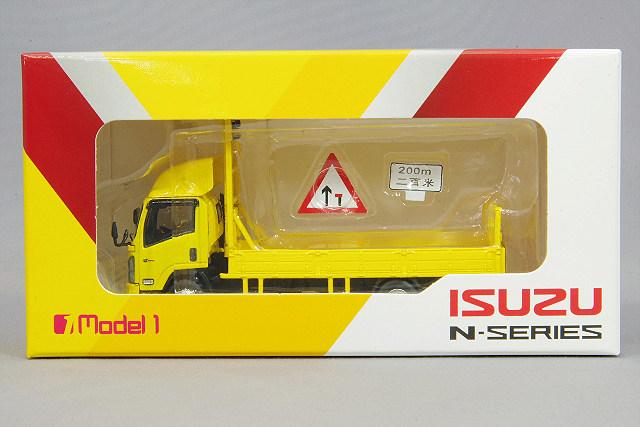 【予約品】 MODEL 1 (モデルワン) 1/76 いすゞ Nシリーズ 道路工事標識車