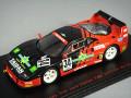 ・エブロ 1/43 タイサン スターカード フェラーリ F40 1994 JGTC #34 鈴木恵一/松田秀士 【レジン製】