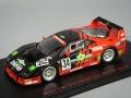 ・エブロ 1/43 タイサン スターカード フェラーリ F40 1995 JGTC #34 A.レイド/近藤真彦 【レジン製】
