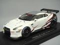 【ワゴンセール】 エブロ 1/43 日産 GT-R FIA GT1 プレゼンテーション ホワイト