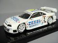 【特価商品】 ・エブロ 1/43 ゼクセル スカイライン R33 1998 JGTC GT500 #2 鈴木亜久里/影山正彦