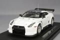 【ワゴンセール】 エブロ 1/43 日産 GT-R GT1 2010ver. 富士 シェイクダウン #2 ホワイト