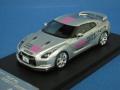 【ワゴンセール】 hpi1/43 日産 GT-R(R35) 東京スマートドライバー(レジンモデル)