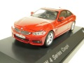・BMW特注 1/43 BMW 4シリーズ クーペ F32 レッド