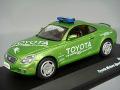 ・J-コレクション 1/43 トヨタ ソアラ 2004 TOYOTA MOTORS SPORT ペースカー グリーン