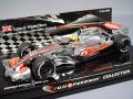 【富士スピードウェイコレクション 特注】 ミニチャンプス 1/43 マクラーレン ショーカー 2008 F1 L.ハミルトン