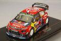 【予約品】 イクソ 1/43 シトロエン C3 WRC 2019年 ラリー チリ #4 S.オジェ/D.イングラシア