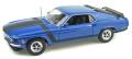 WELLY 1/18 フォード マスタング BOSS 302 1970 ブルー