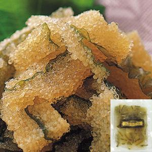 特選味付け数の子昆布(カナダ産) 100g入袋 x 2袋(白醤油味、わさび味) (箱入り・梱包)
