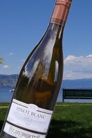 【超地産地消ワイン】     カナダ産・白ワイン ピノブラン2015年産