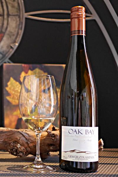 【超地産地消ワイン】      カナダ産・白ワイン ゲベルツトラミネール2015年産
