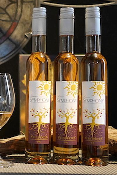 【超地産地消ワイン】     3本セット <極上スイーツワイン> カナダ産・ピンクロゼ・レイトハーベストワイン ガメイノアール2012年産