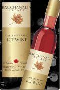 【超地産地消ワイン】     カナダ産・赤アイスワイン カベルネフラン2008年産 ★専用化粧箱付