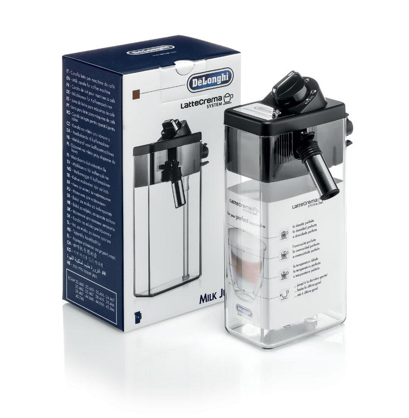 全自動コーヒーマシン ECAM45760B / 44660BH 用 ミルクコンテナ(ふた付) [パーツコード: 5513294571]