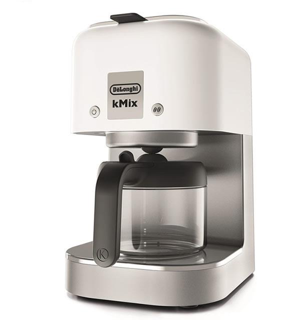 デロンギ ケーミックス ドリップコーヒーメーカー  [COX750J-WH] クールホワイト