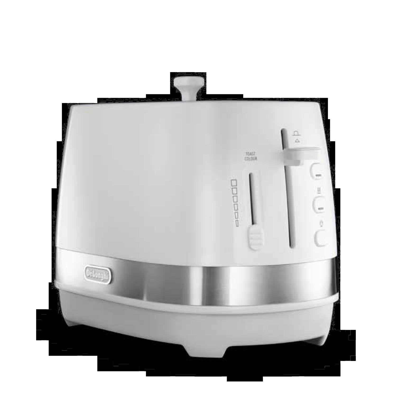 デロンギ アクティブ シリーズ ポップアップトースター [CTLA2003J-W]