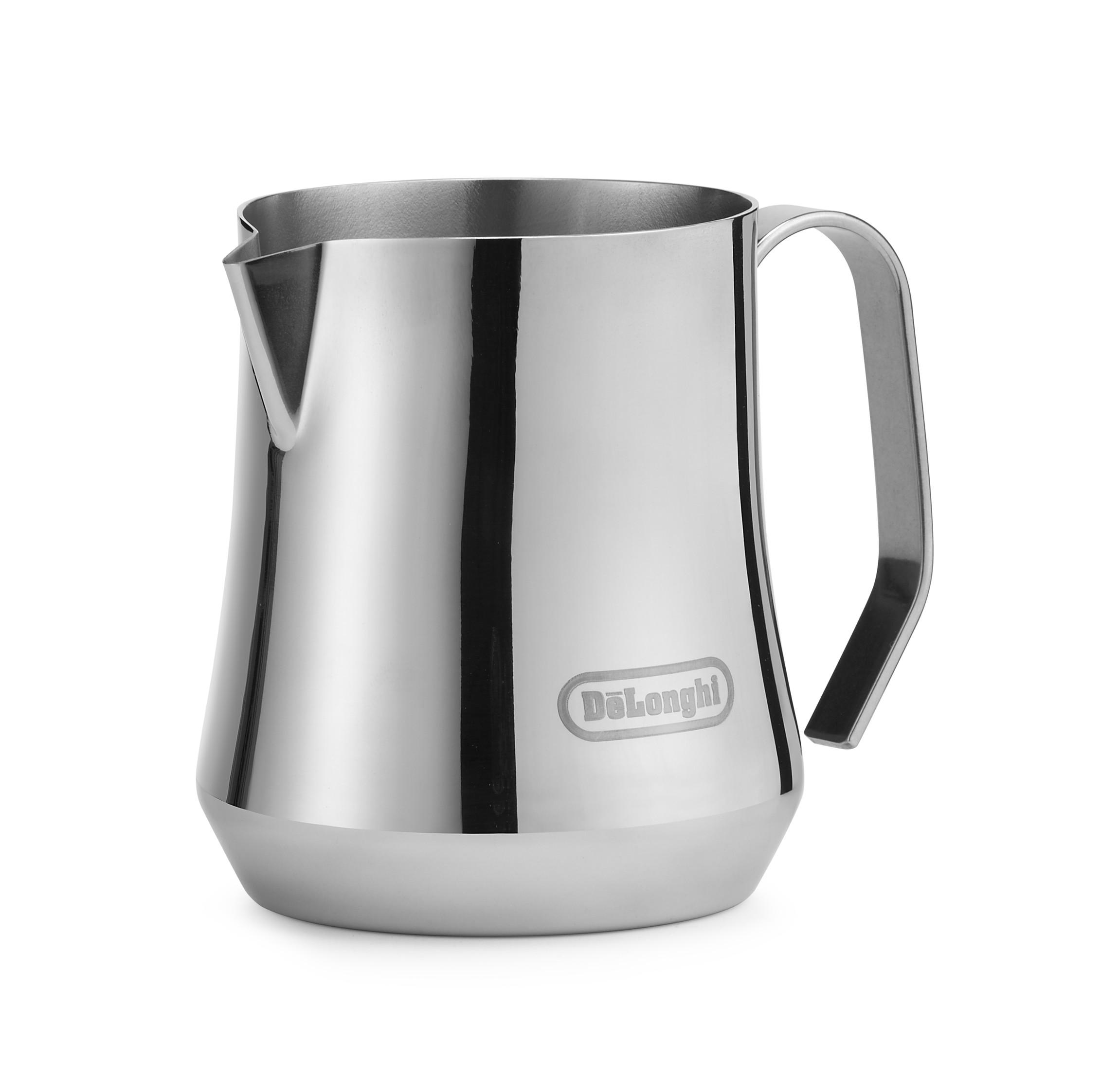 デロンギ ステンレス製 ミルクジャグ 500ml [商品コード:DLSC069]