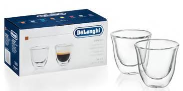 デロンギ ダブルウォールグラス(2個セット) エスプレッソ [商品コード:DWG2S-060]