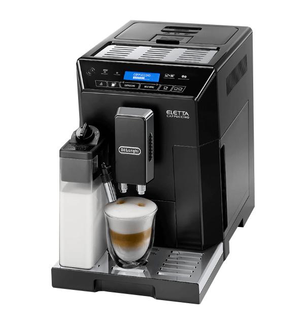 デロンギ エレッタ カプチーノ 業務用全自動コーヒーマシン [ECAM44660BH]