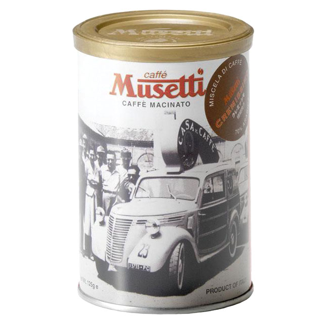 ムセッティ クレミッシモ コーヒーパウダー 125g缶 [MG125-CR]
