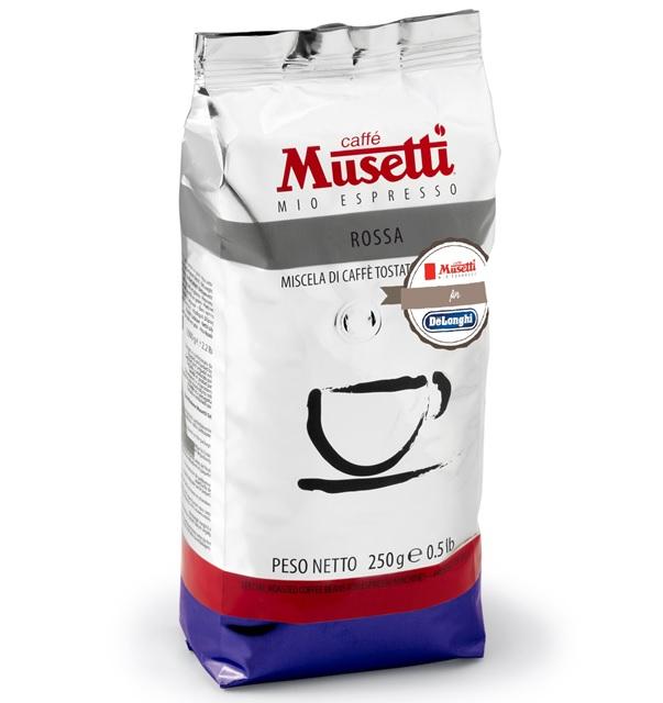 ムセッティ ロッサ コーヒー豆 250g [MB250-RO]