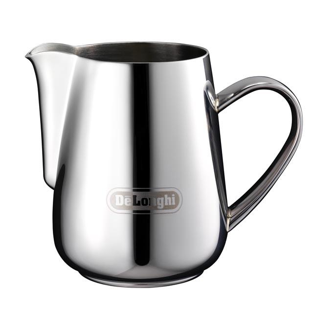 デロンギ ステンレス製 ミルクジャグ 400ml [商品コード:MJD400]