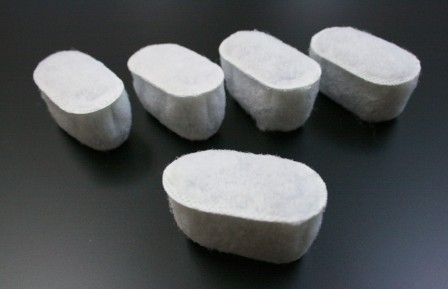 活性炭フィルター(5個入り)<対応機種ご確認下さい> [CM-ACF](旧商品コード:CMG310-ACF)