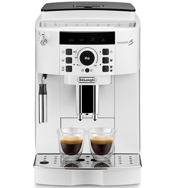 デロンギ マグニフィカS 全自動コーヒーメーカー [ECAM22112W]【直営店限定モデル】