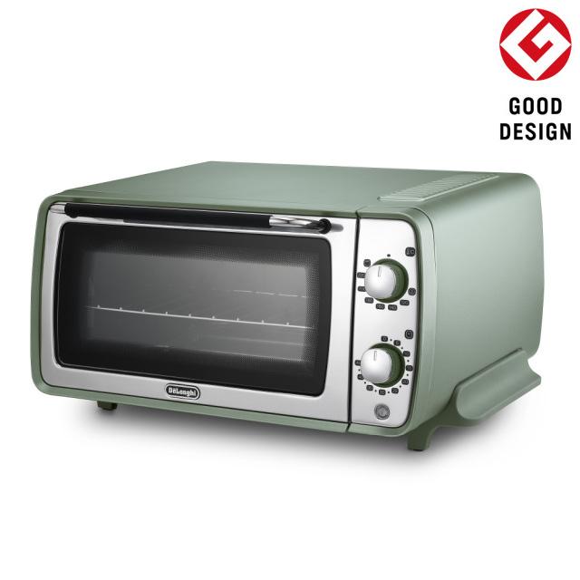 デロンギ ディスティンタ・ペルラ コレクション オーブン&トースター[EOI408J-GR]