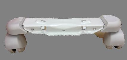 オイルヒーター サーマル/ラディアL字型フィン専用(グレー車輪、プラスネジ2本取付タイプ/型番指定あり) キャスター [パーツコード: 7310811148]