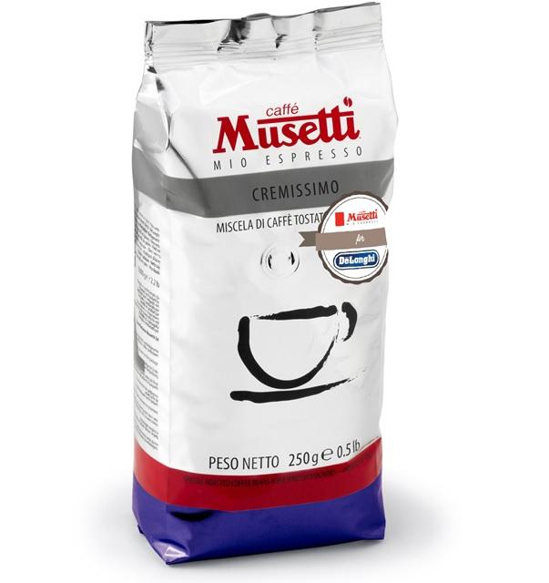 ムセッティ クレミッシモ コーヒー豆 250g [MB250-CR]