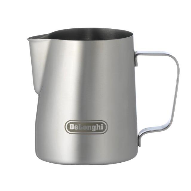 デロンギ ステンレス製 ミルクジャグ 350ml [商品コード:MJD350]