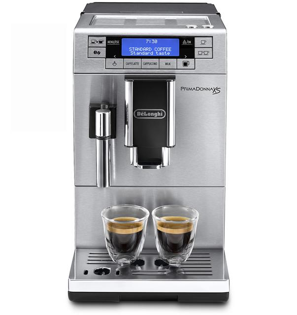 デロンギ プリマドンナXS コンパクト全自動コーヒーマシン [ETAM36365MB]